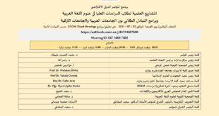 المؤتمر الدولي لطلاب الدراسات العليا في علوم اللغة العربية ينطلق الجمعة