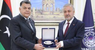 طرابلس.. وزير الداخلية الليبي يلتقي السفير التركي