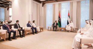 ملامح تغير بالموقف الإماراتي في ليبيا إثر زيارة المنفي والمنقوش لأبوظبي