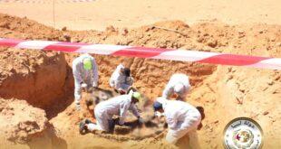 مقبرتين جديدتين وثلاث جثث مجهولة الهوية بترهونة