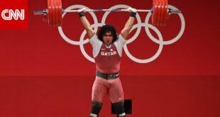 بعد ذهبية الحفناوي. ذهبية ثانية للعرب في أولمبياد طوكيو للرباع القطري فارس إبراهيم