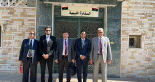 """تكلف لجنة من طرفها للمهمة.. """"المنقوش"""" تسعى لضم السفارة الليبية في دمشق"""