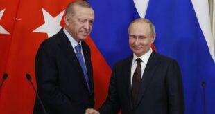 سوريا وأفغانستان وليبيا أهم ملفات لقاء أردوغان وبوتين