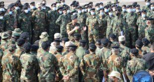 رئيس الأركان العامة يشدد خلال زيارته مقر القوات الخاصة (الصاعقة) على ضرورة التدريب على كافة المخاطر والتهديدات المحتملة